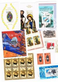 10 different Germany (all) Souvenir and Miniature Sheets packet